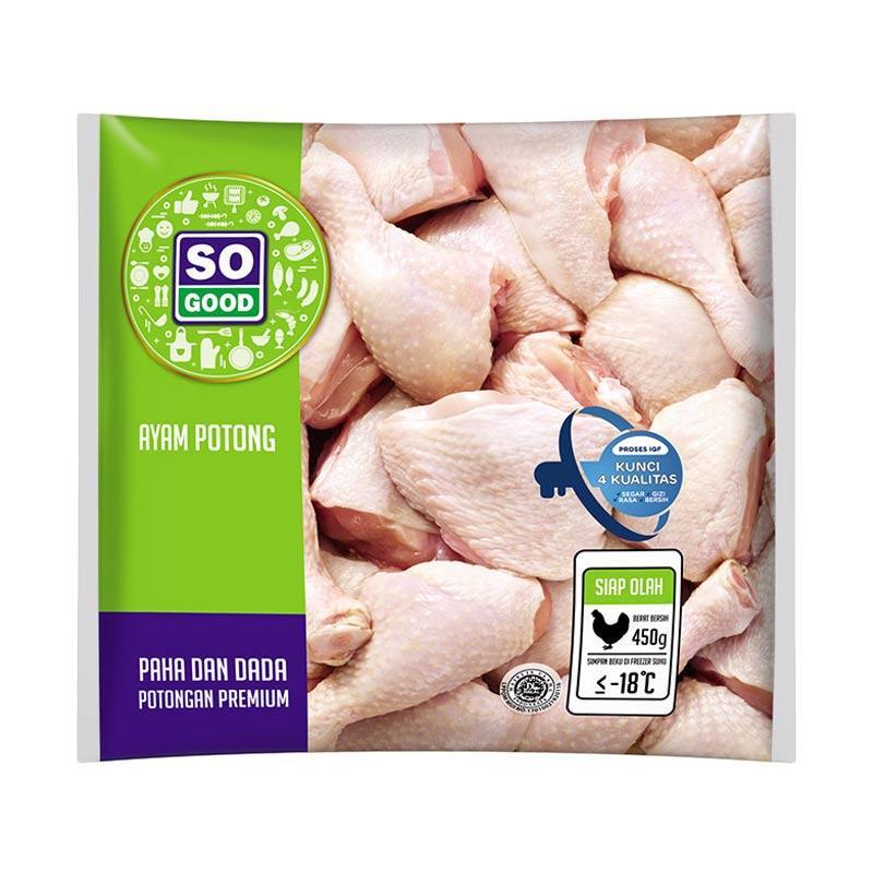 So Good Ayam Potong Paha Dada [450 g]