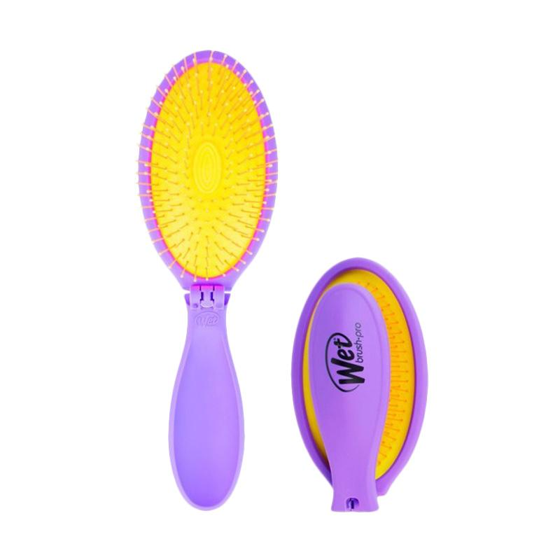Spek Harga The Wet Brush Pop Fold Sisir Rambut - Plum Party Terbaru