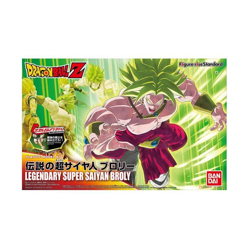 Bandai Legendary Super Saiyan Broly Rise Standard Action Figure