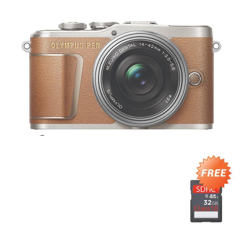 harga Pre Order - Olympus PEN E-PL9 Kit 14-42mm EZ Kamera Mirrorless - Brown + Free SDHC 32 GB Blibli.com