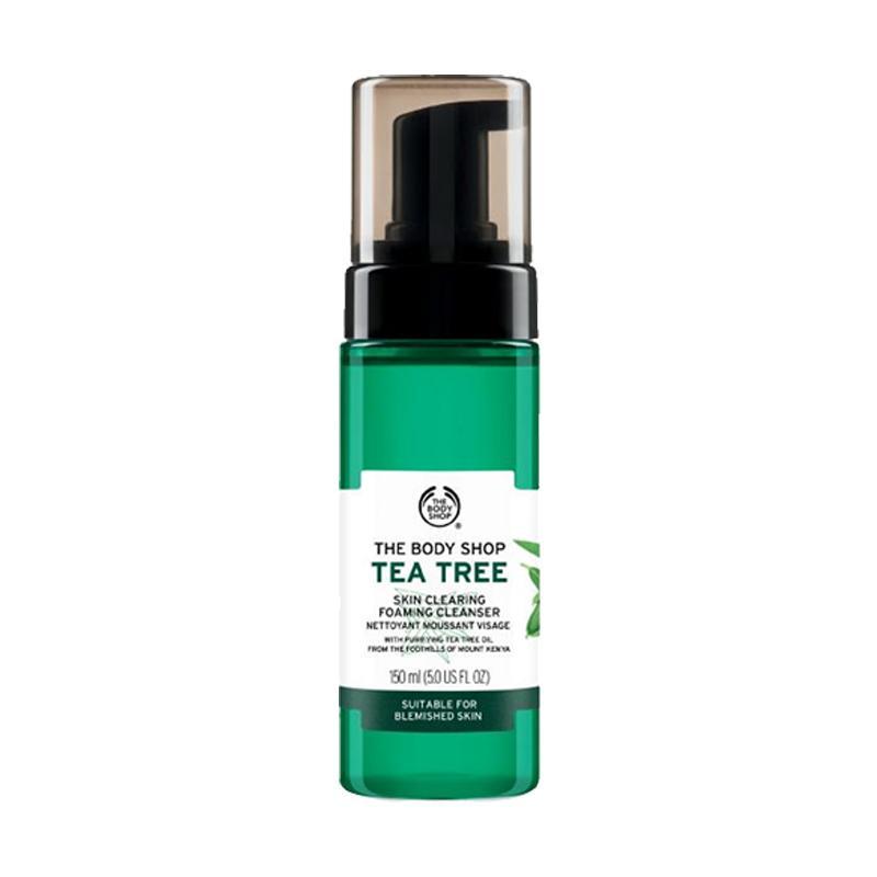 The Body Shop Tea Tree Foaming Facial Wash