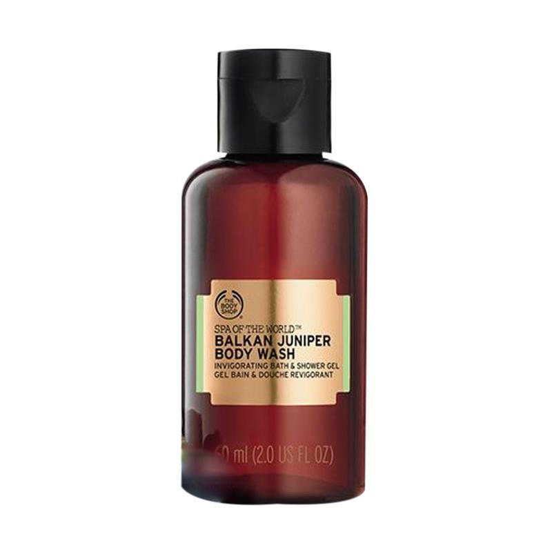 The Body Shop Spa Of The World Balkan Juniper Body Wash 60 mL