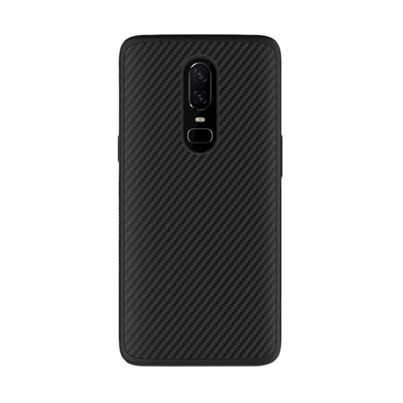 harga Nillkin Synthetic Fiber Casing for OnePlus 6 - Hitam Blibli.com