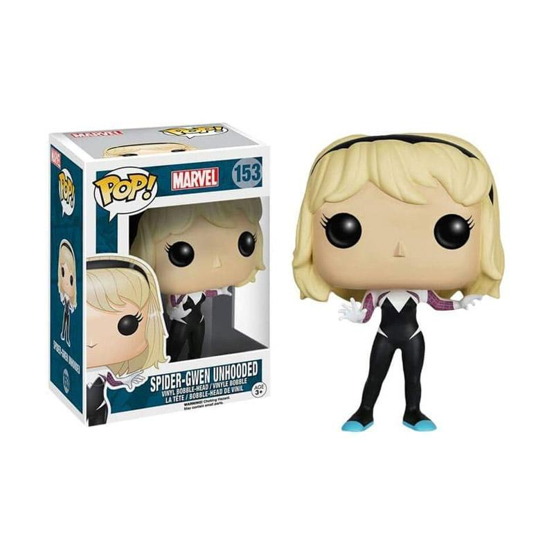 Marvel Spider Gwen Unmasked Vinyl Figure Funko Rock Candy