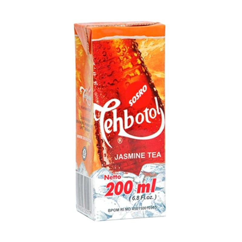 harga Sosro Teh Botol Jasmine Minuman Teh [200 mL] Blibli.com