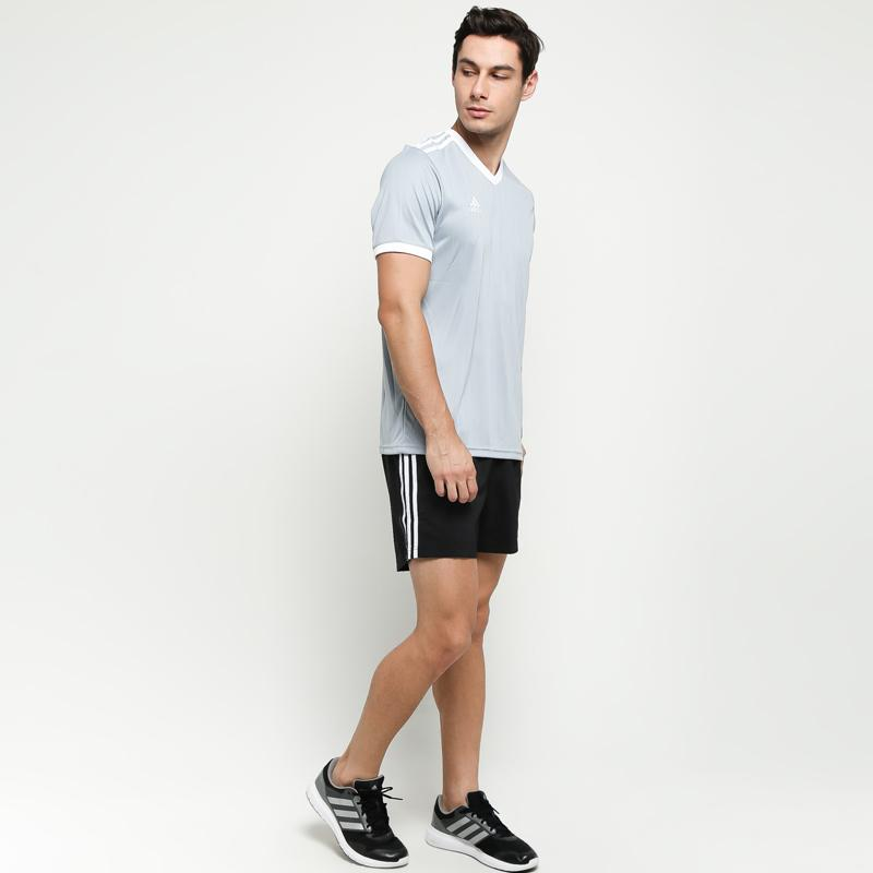 Luminancia Medicina Evaporar  Jual adidas Men Running 3-Stripes Short Celana Olahraga Pria - Black White [ DM1666] Online Januari 2021 | Blibli