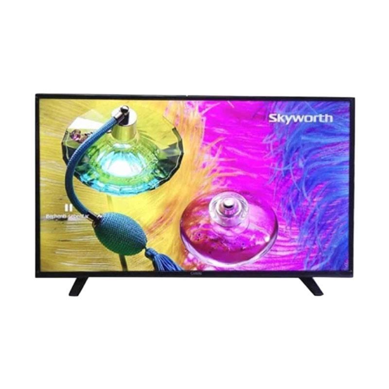 Coocaa 32A4 LED TV - Hitam [32 Inch/ Khusus Jadetabek]