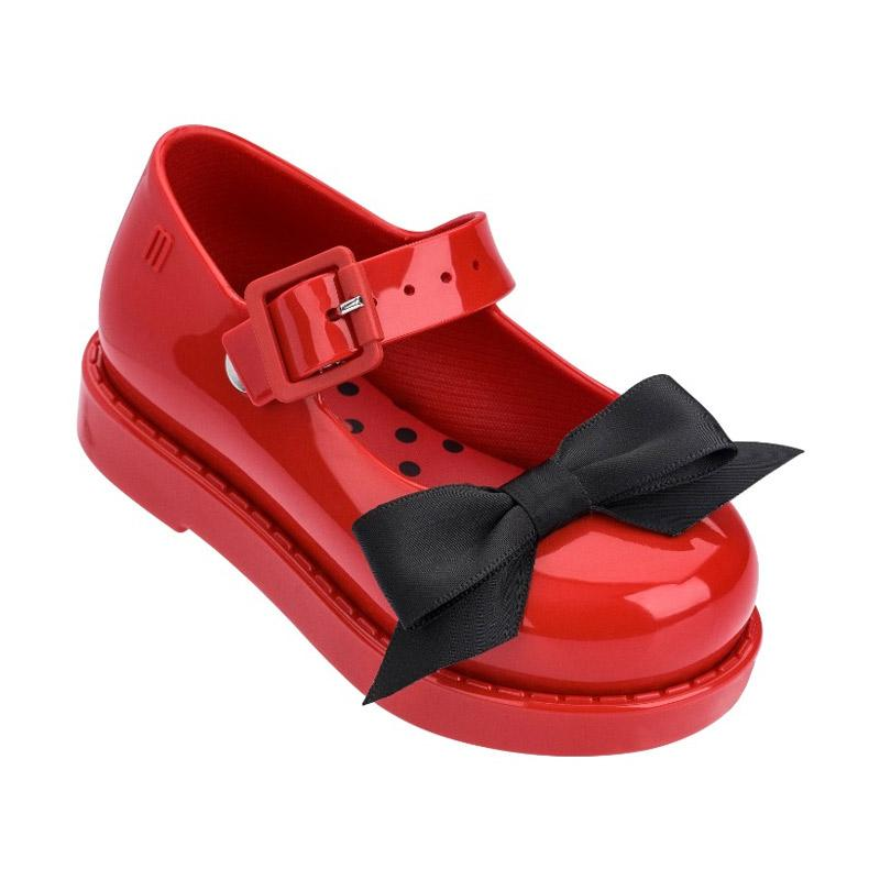Mini Melissa Maggie Bow Bb Me Sepatu Sandal Anak Perempuan