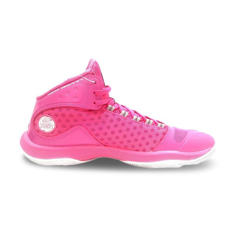 PEAK Gradient Dual 2 8 Sepatu Basket Unisex Rose