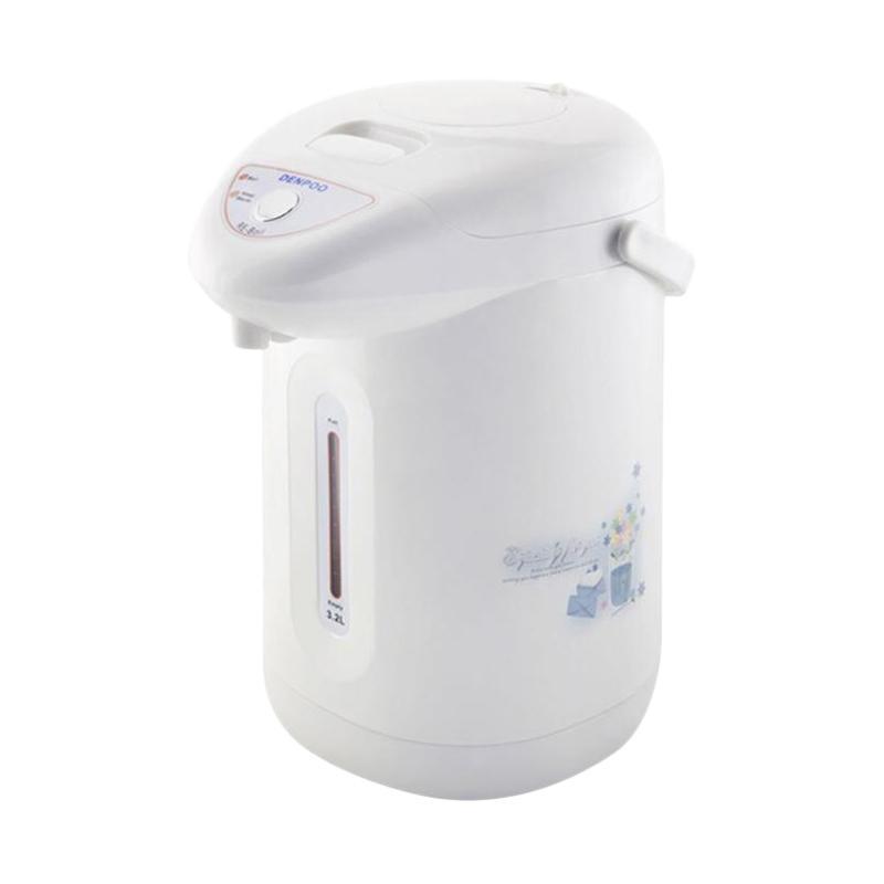 Denpoo DEP-138 VT Electro Thermos Pot - Putih