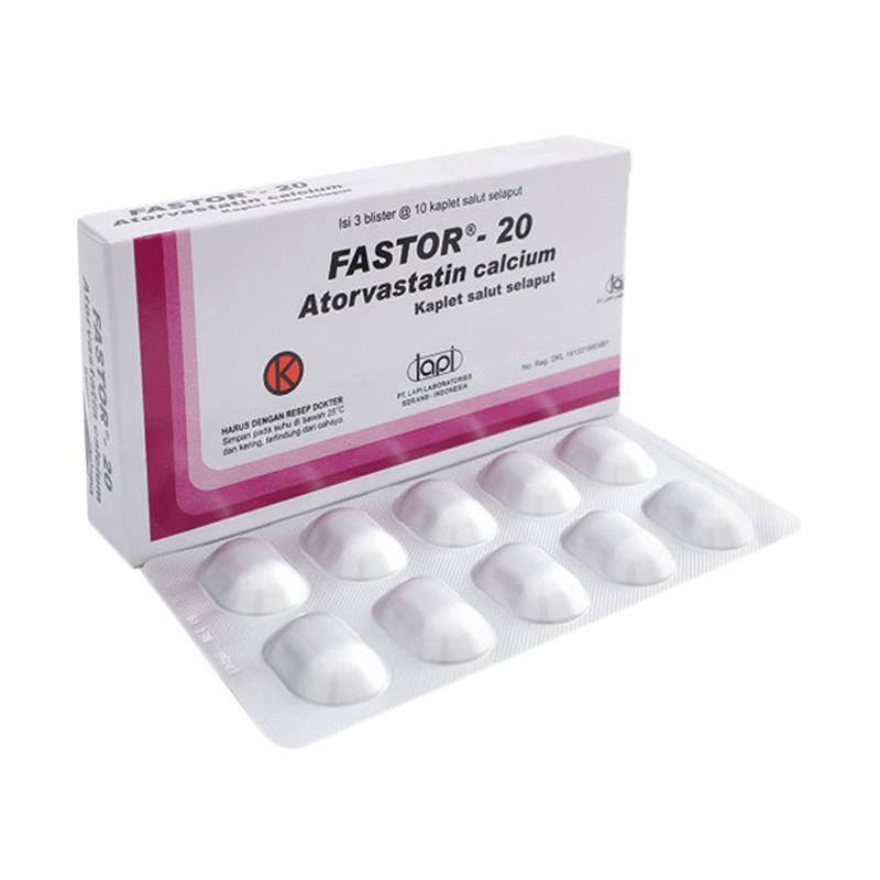 Jual Lapi Fastor 20 Obat Resep Dokter 1 Strip 10 Tablet Online Februari 2021 Blibli