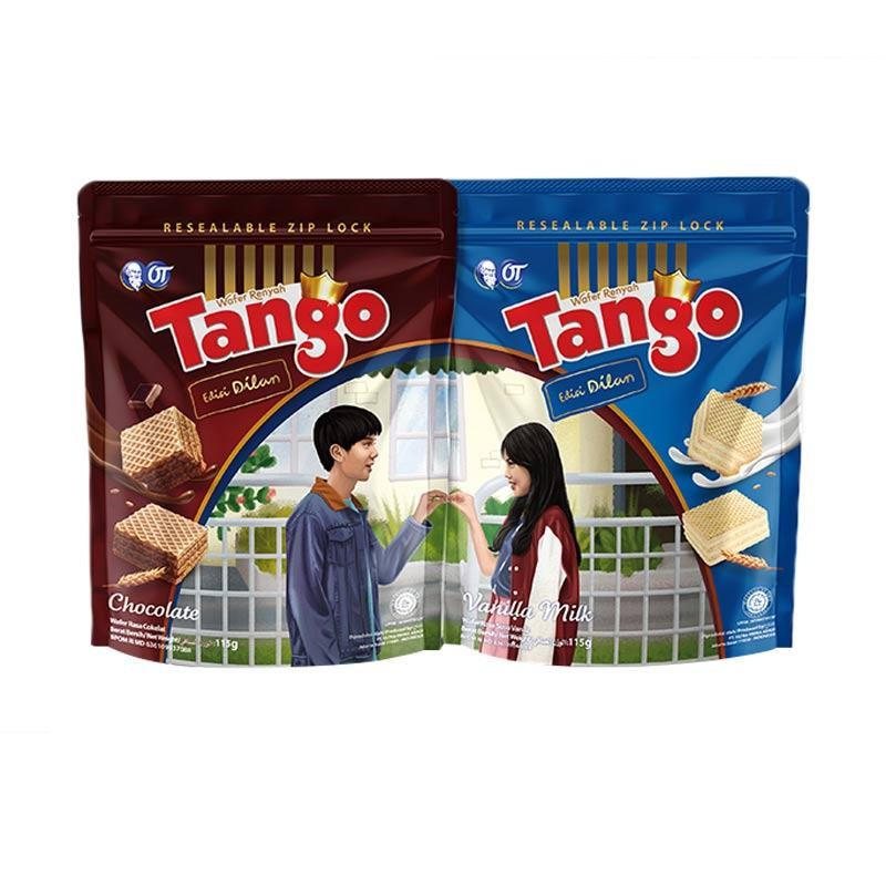 Tango Pouch Chocolate Vanila Dilan Edition