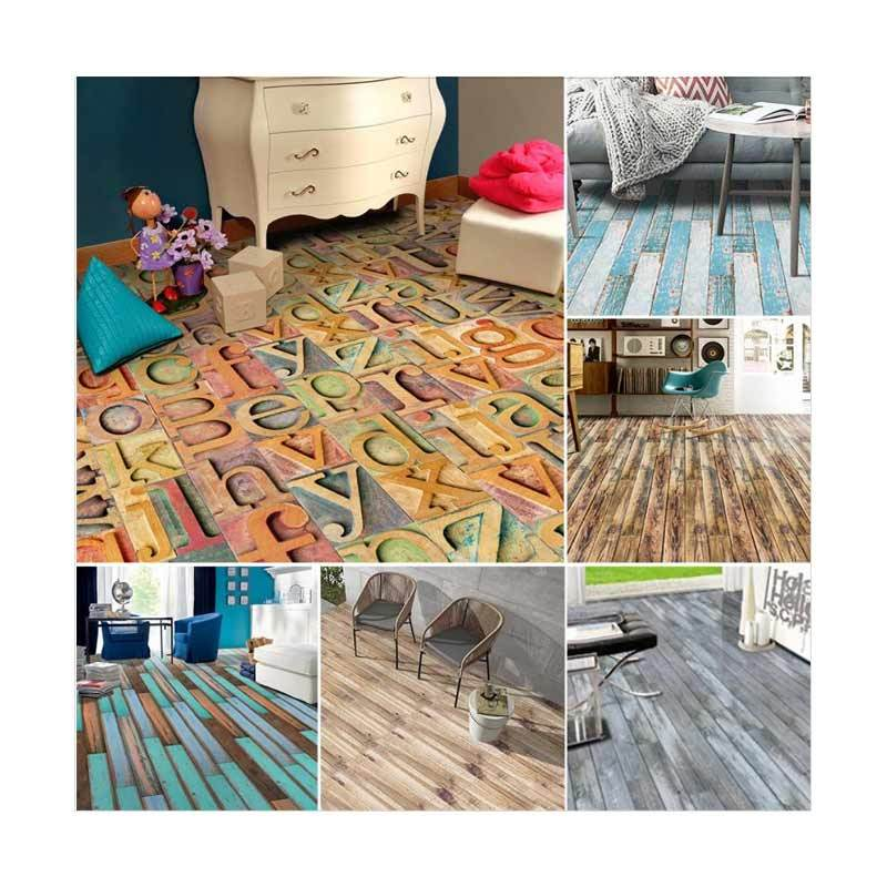 Self Adhesive Flooring Tile Sticker