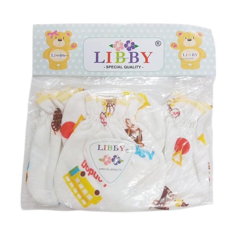 Libby Set Sarung Tangan dan Kaki Bayi Motif Random - Multicolor