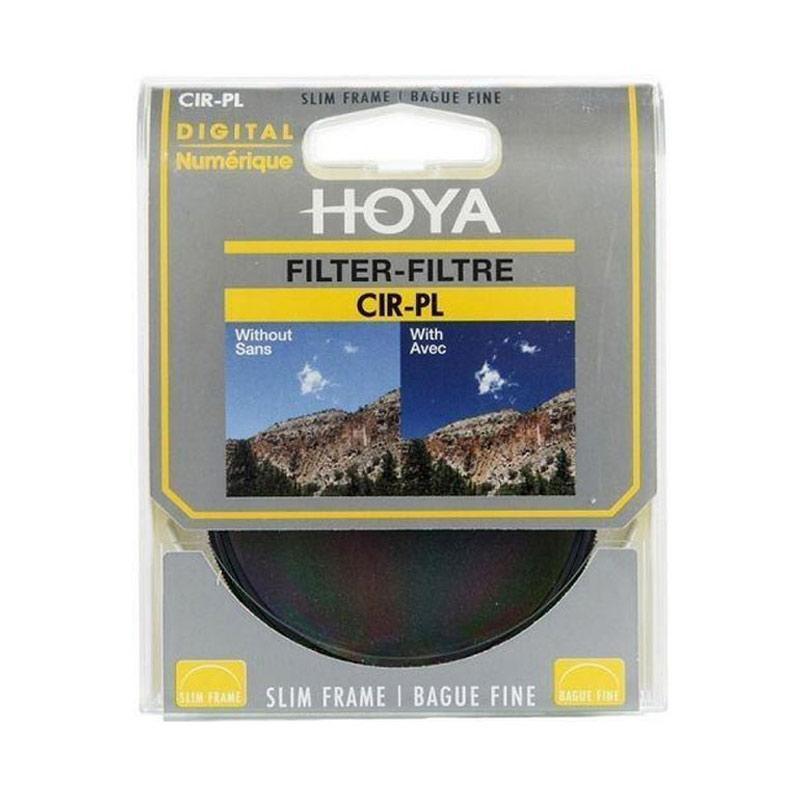 FOCUS NUSANTARA - Hoya CPL Slim Frame 67mm Filter Lensa