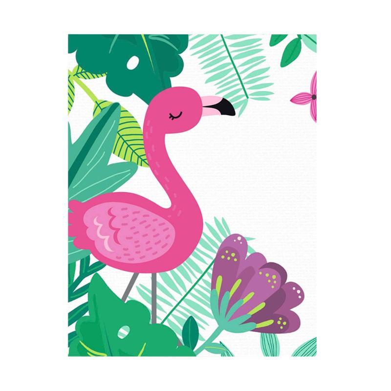 samju hiasan dinding wallart flamingo big original  b12  full04