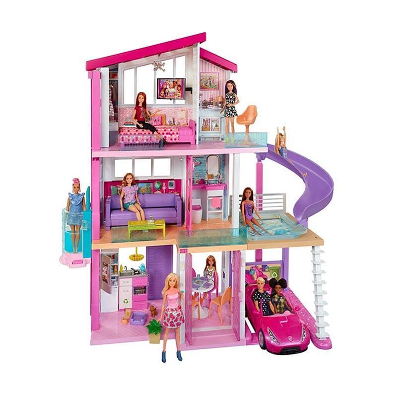 Jual Mattel Barbie Dream House Rumah Boneka Barbie Online Februari 2021 Blibli