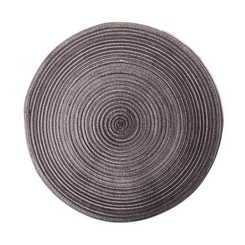 Jual Bluelans Round Cotton Yarn Weaving Heat Insulated Cup Pot Mat Placemat Dining Table Decor 36 Cm Online September 2020 Blibli Com