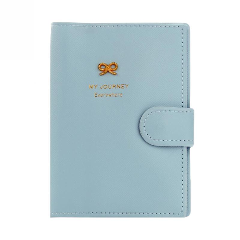 Passport Holder Cover Case Cute Brown Wild Bear Watercolor Stylish Pu Leather Womens Passport Case Luxury Passport Holder Cover Case For Women Men Women Passport Cover