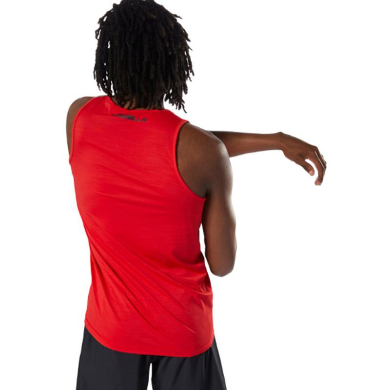 Max Muscle Red Stringer Ringer Tank Top New