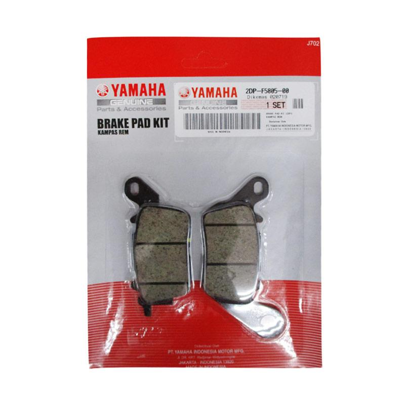 Jual Yamaha Genuine Parts 2dpf58050000 Brake Pad Kit 2dp1 For Yamaha Nmax Aerox Online Februari 2021 Blibli