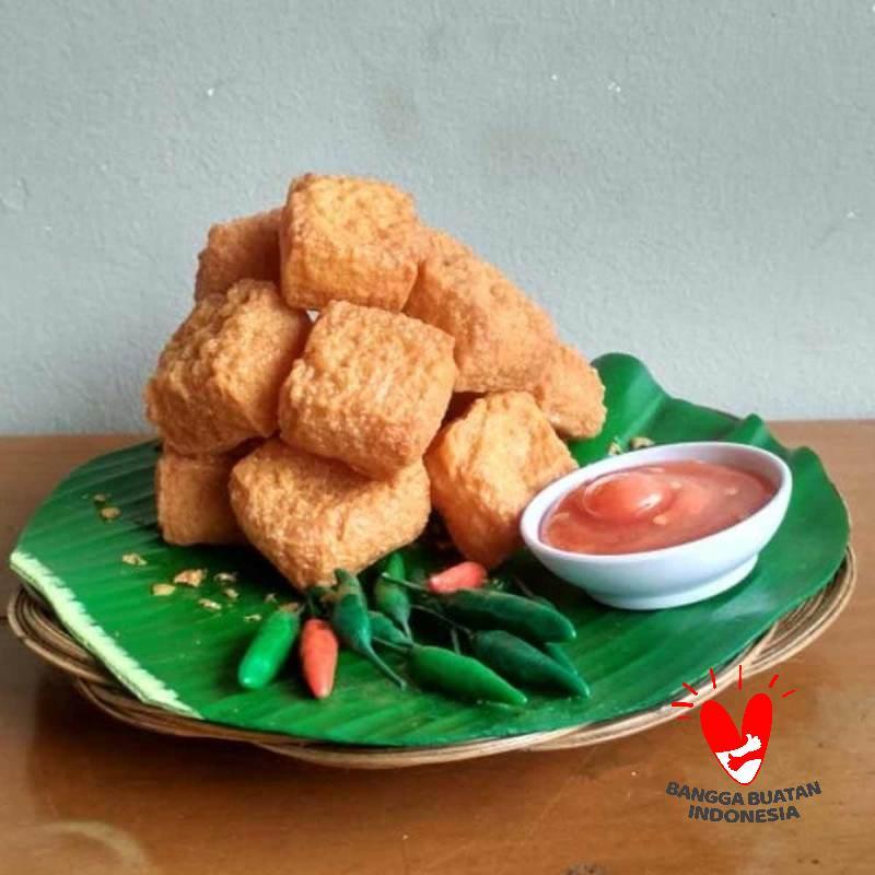 Bul Creative Art Tahu Sumedang Komplit Food Replica Table Display