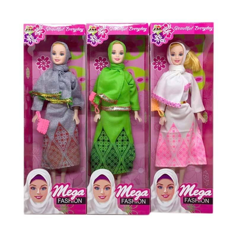 Jual Oem Hijab Muslim Barbie Mainan Boneka Random Kemasan Box Online November 2020 Blibli Com