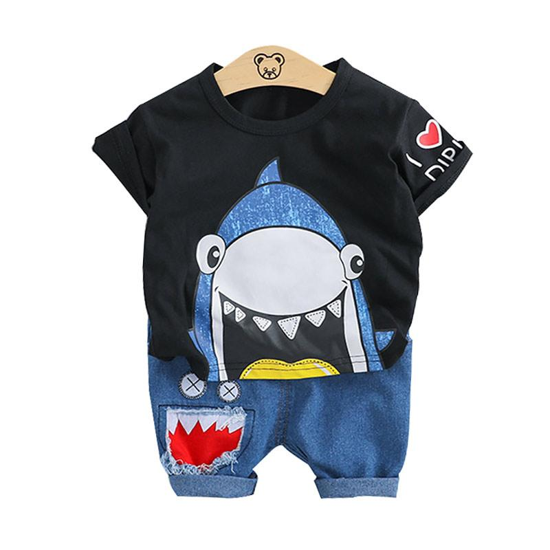 Ant-Kinds 2pcs Toddler Kids Baby Girls T-Shirt Tops+Pants Summer Beach Outfits Clothes Set