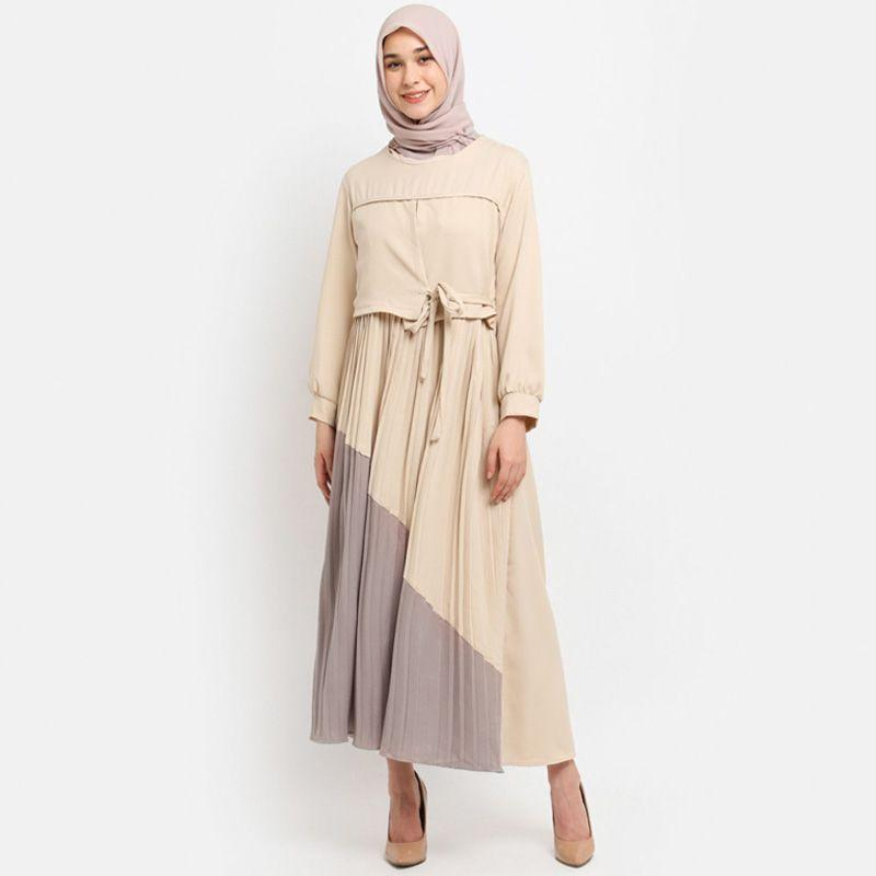 Le Najwa Lowry Dress Muslim Wanita