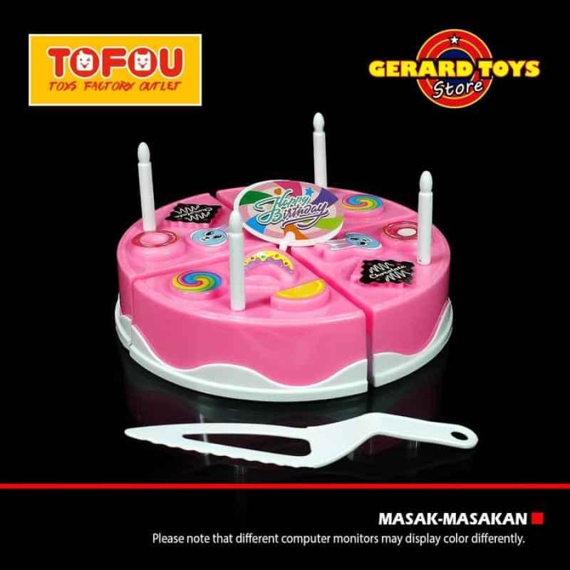 Jual Oem Masak Masakan Kue Tart Birthday Cake Besar Mainan Anak Pink Online November 2020 Blibli Com