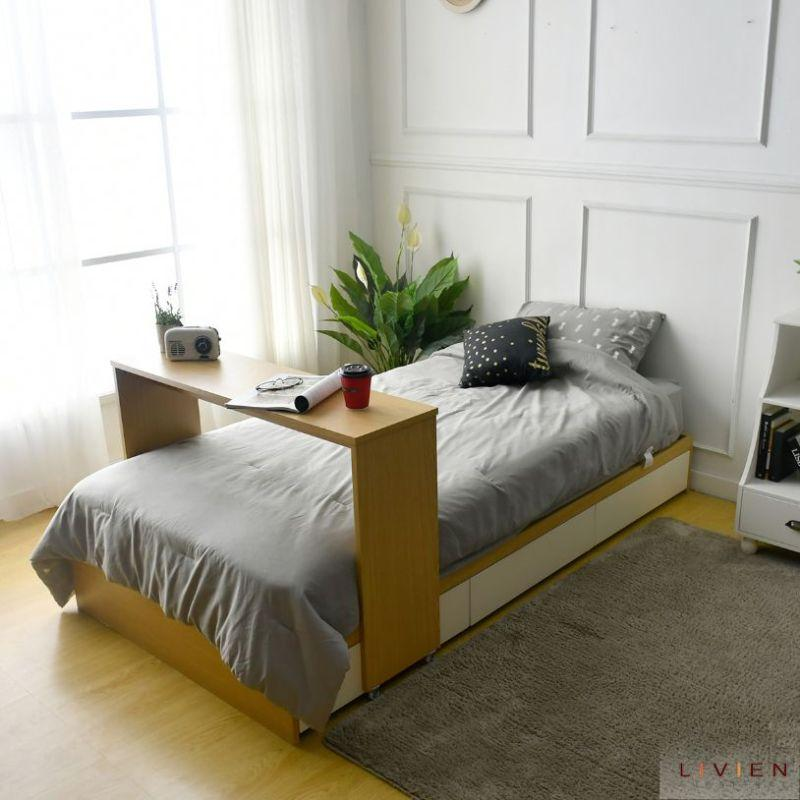 Livien Divan Tempat Tidur Laci Penyimpanan Minimalis Single Bed
