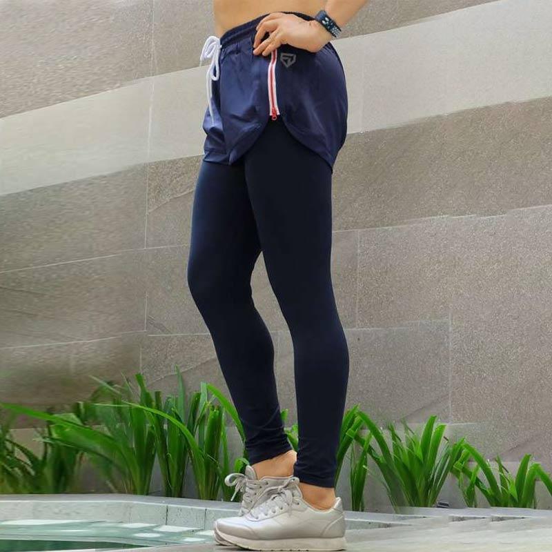 Jual Fitwear Zipper With Inner Legging Celana Lari Wanita Online September 2020 Blibli Com