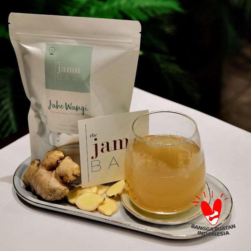 The Jamu Bar Jahe Wangi Natural Ginger Powder