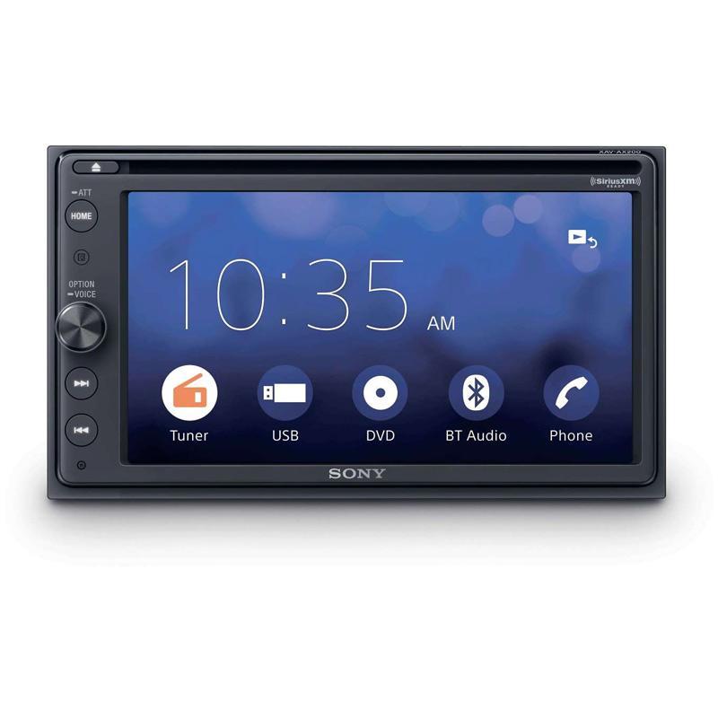 Jual Sony Xav Ax200 Head Unit Tape Mobil Double Din Audio Apple Car Play Android Auto Rear Camera Terbaru Juni 2021 Blibli