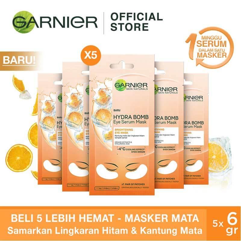 Garnier Eye Serum Mask Orange
