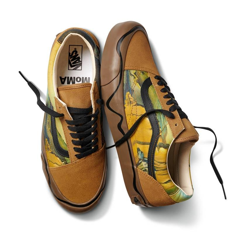 Vans UA Old Skool Twist MOMA Salvador Dali Sepatu Sneakers Pria