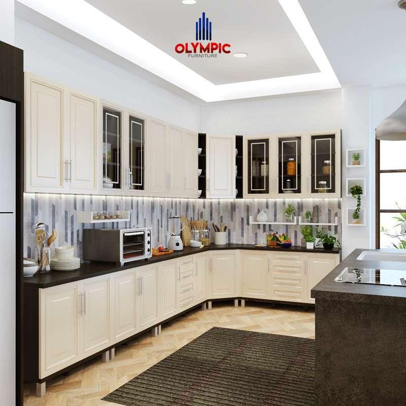 Jual Olympic Kitchen Set 3 Pintu Meja Dapur Kabinet Bawah Rak Dapur Bawah Kbt010880i Online Februari 2021 Blibli