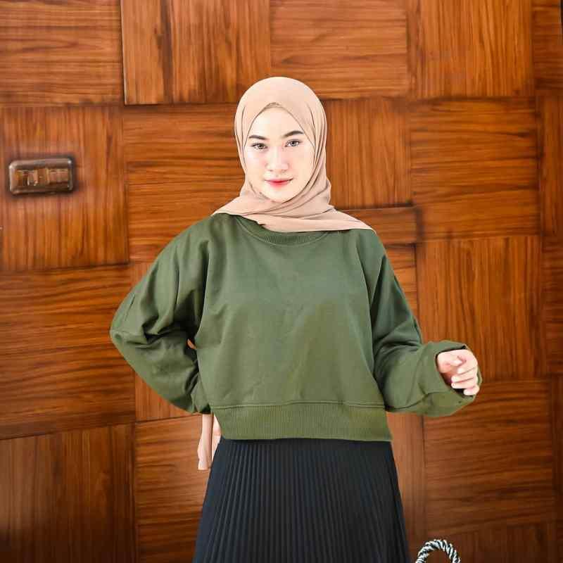 Jual Cod Termurah Outwear Oversize Crope Sweater Hoodie Bahan Fleece Fashion Ootd Wanita Pria Casual Trendy Murah Promo Terbaru Online Maret 2021 Blibli