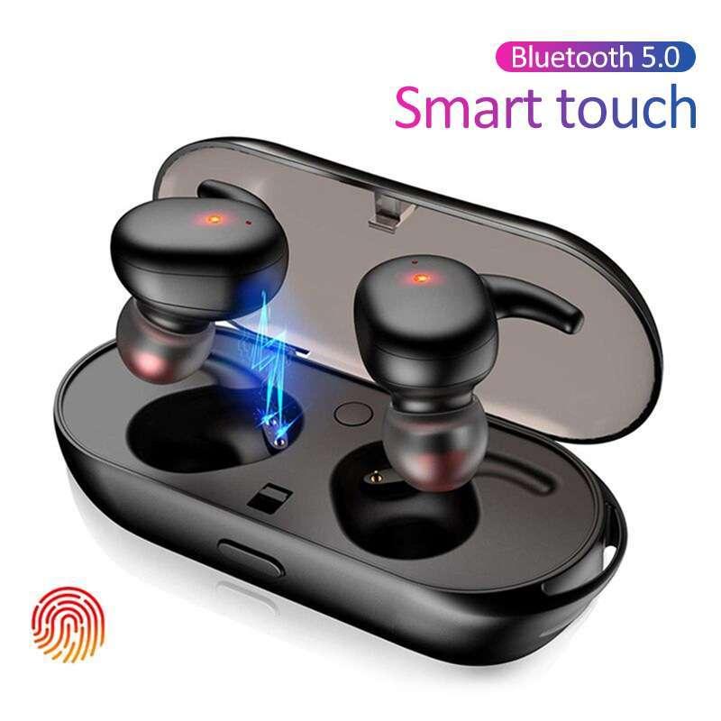 Y30 TWS Wireless Bluetooth 5.0 Earphone Noise Cancelling Earphone Stereo HD Earphone for iPhone Samsung Xiaomi
