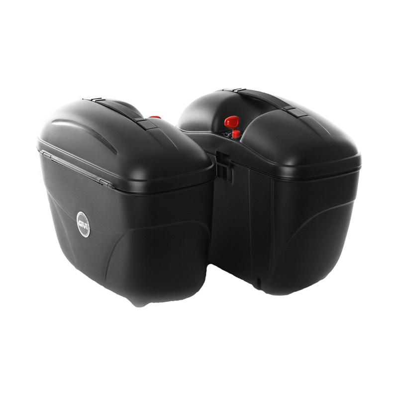 harga GIVI E21N Side Box Motor + Bracket SBL2000 - Black Blibli.com
