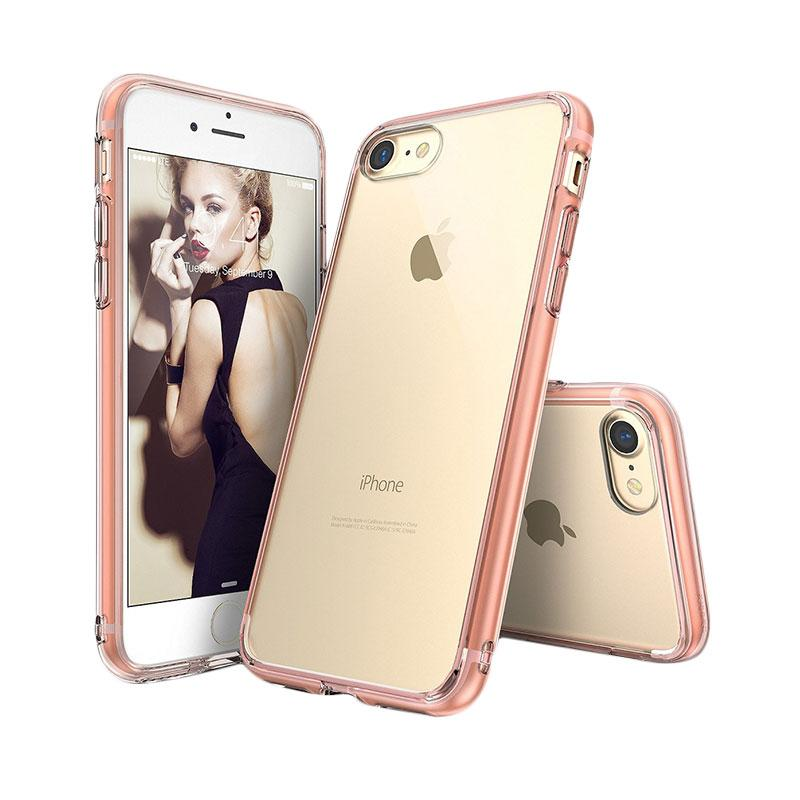 Ringke Fusion Casing for iPhone 7 - Rose Gold