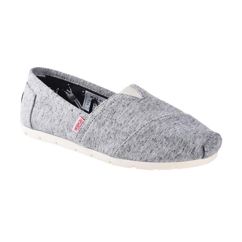 Wakai WAK-CW01703-FLEECE Sepatu Wanita - Grey