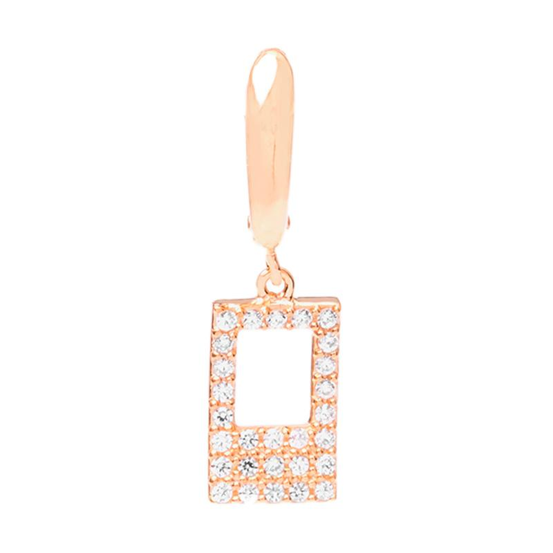 Cubic Gold Earring - Anting Emas Kadar 37,5