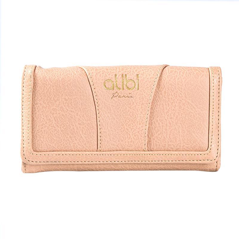 Alibi Geneve Wallet W0293B4 Long Wallet - Beige