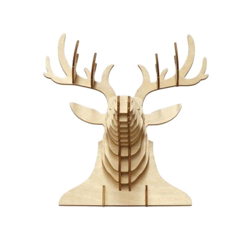 Kigumi Deer Wall Deco 3D Puzzle