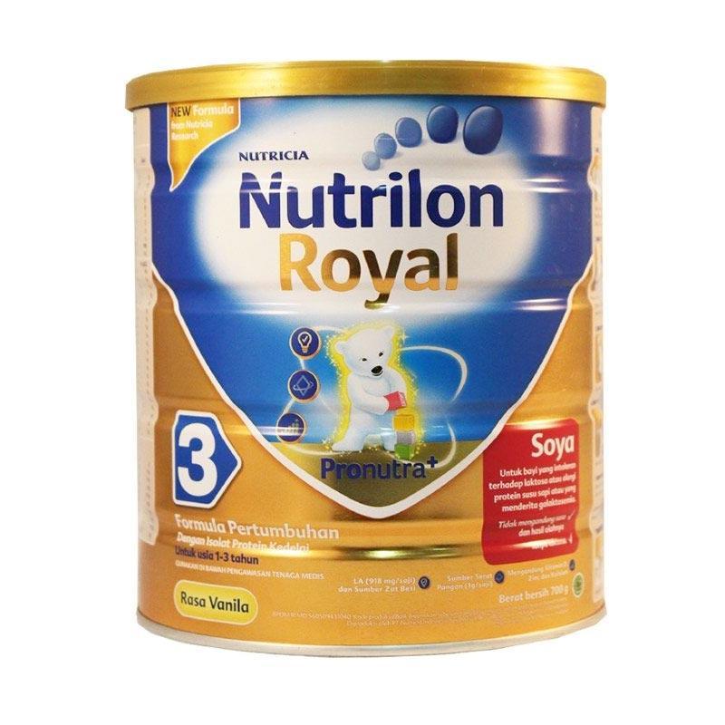 Nutrilon Royal Soya 3 Vanila Susu Formula [700 gr]