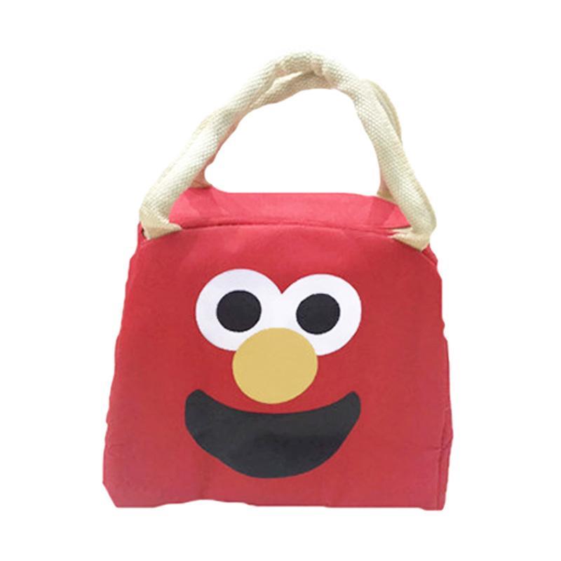 harga BELLINO Elmo Tas Makan - Merah Blibli.com