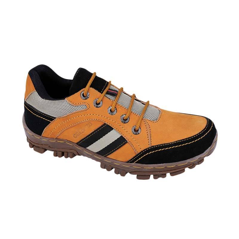 Catenzo RI 024 Sepatu Boots Pria - Tan