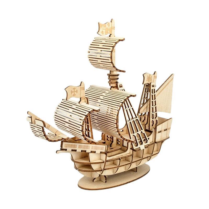 Kigumi Sailing Ship 3D Puzzle