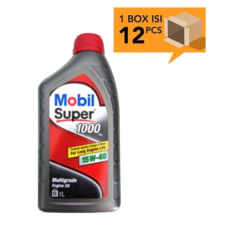 Paket Karton - Mobil Super 1000 15W-40 Botol